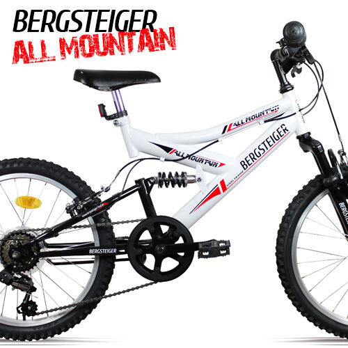 20 zoll kinderfahrrad mountainbike shimano vollgefedert. Black Bedroom Furniture Sets. Home Design Ideas