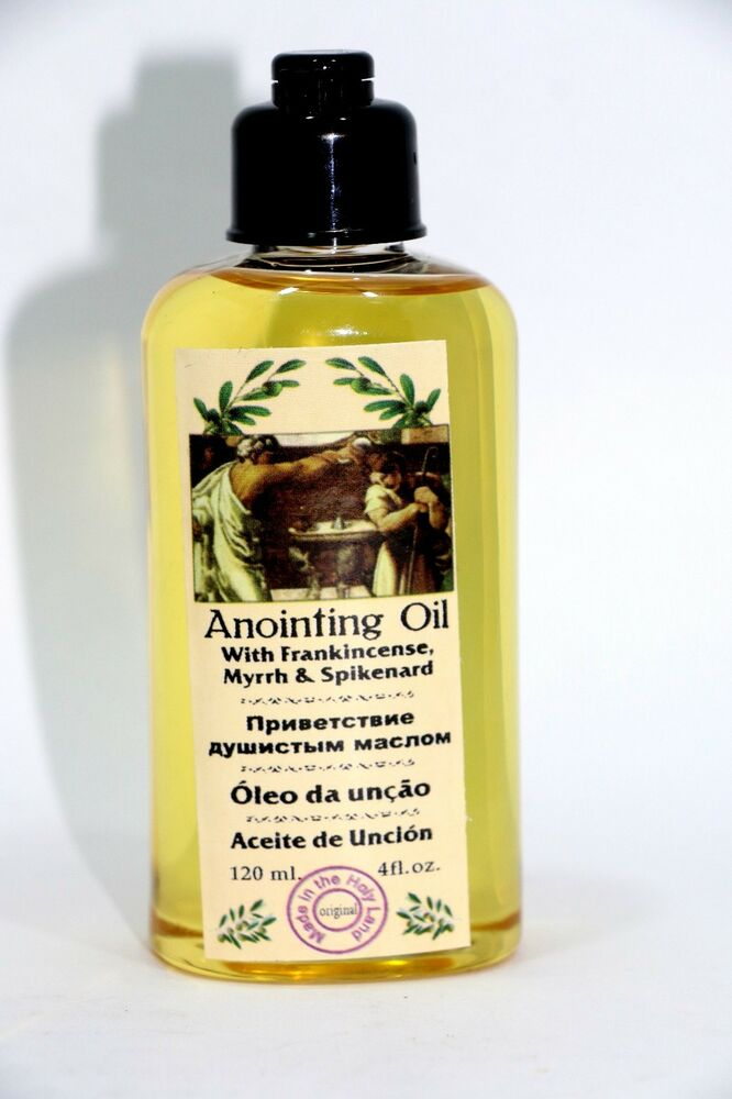 how to get anointing oil