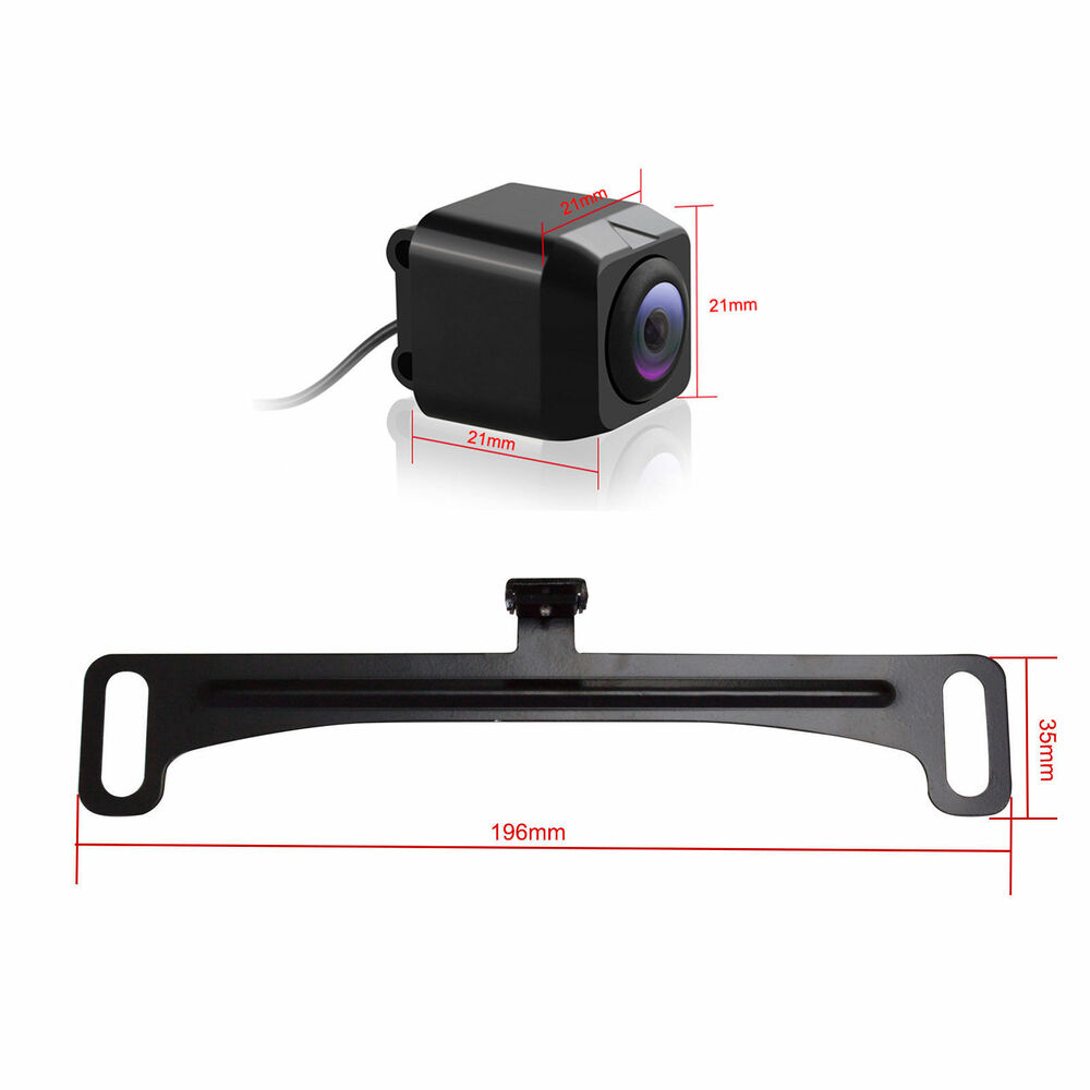 hd car rear view ccd 170 front back view forward backup camera reverse parking ebay. Black Bedroom Furniture Sets. Home Design Ideas