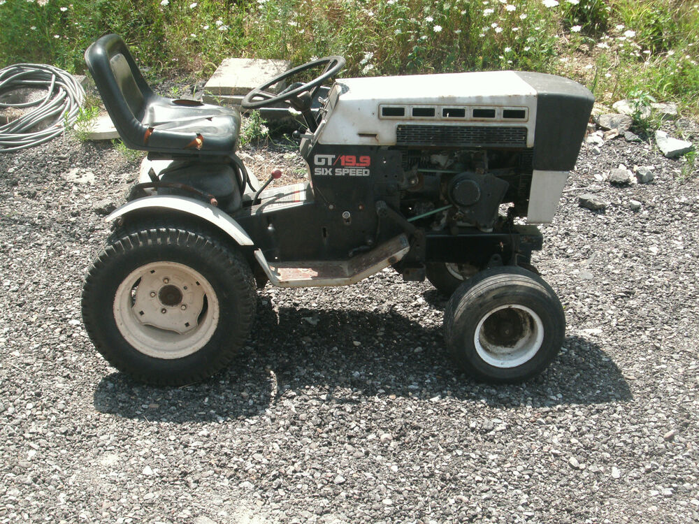 SEARS Suburban,19.9 GT, SS 16, SS18, GT16, GT 18- Tractor for Parts ONLY | eBay