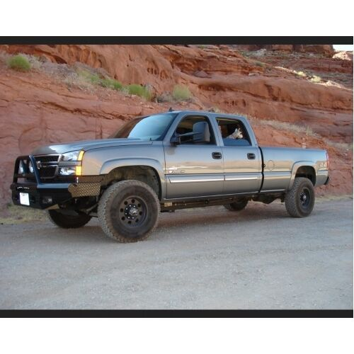 ranch hand btc031blr bullnose front bumper for 03 06 chevy. Black Bedroom Furniture Sets. Home Design Ideas