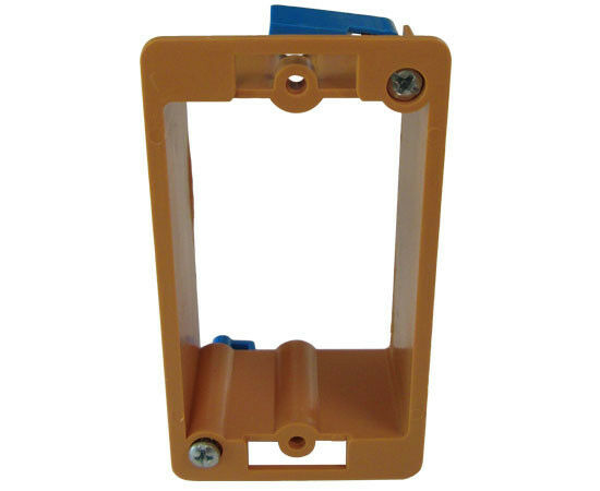 Low Voltage Faceplate : New drywall mounting bracket mud ring gang low