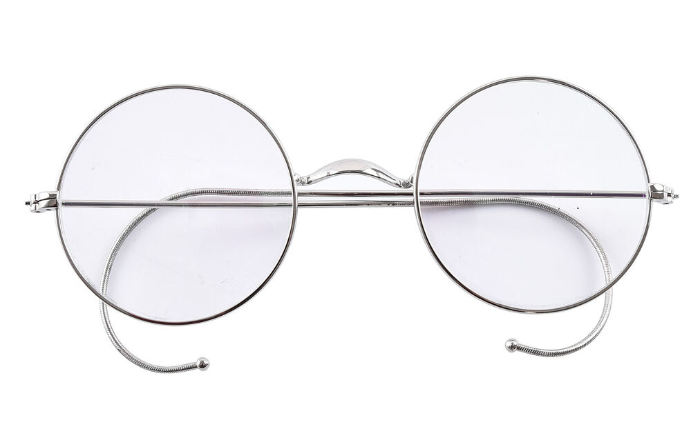 Agstum Round Optical Rare Wire Rim Mens Eyeglasses Frame ...