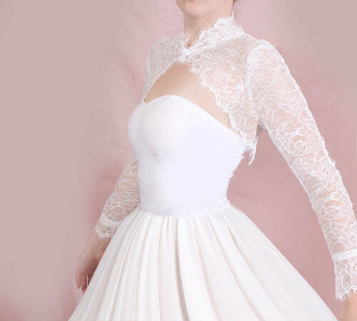 Wedding Gown Bolero Shrug 43