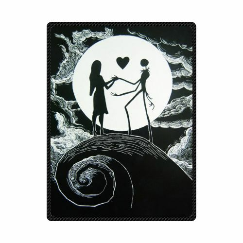 Soft And Warm The Nightmare Before Christmas Throw Blanket
