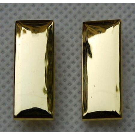 img-WW2 Pair Of US Army Second Lieutenant Officer Rank Insignia Badges