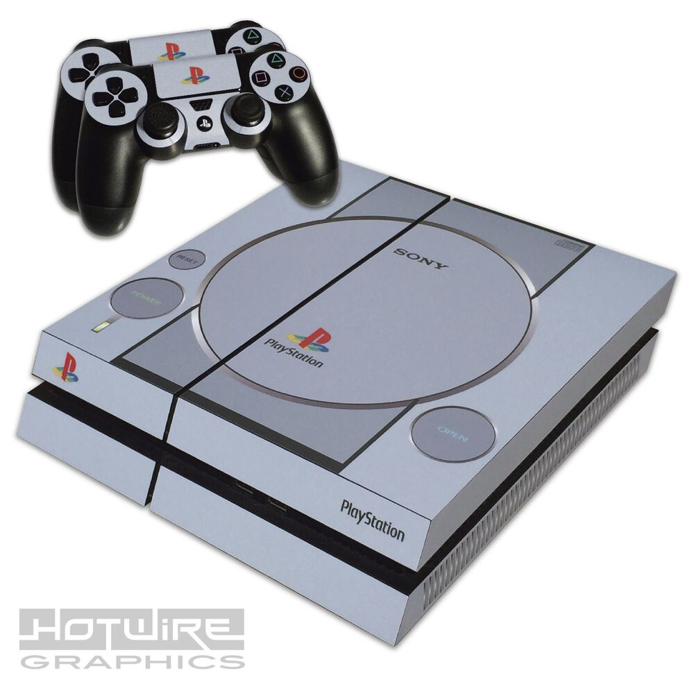 Playstation 1 Games On Ps4 : Playstation ps skin sticker kit one
