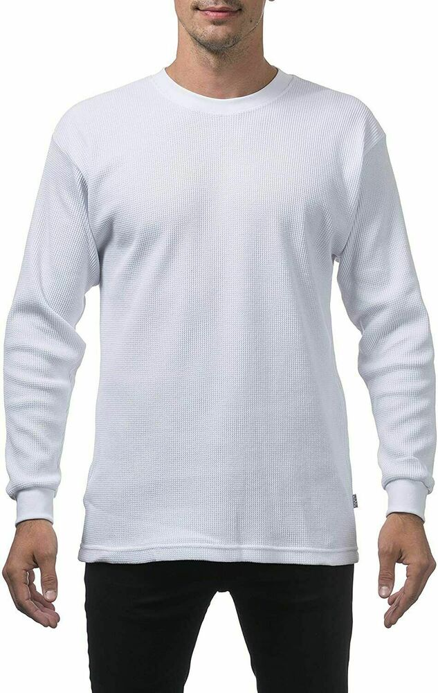 ad03e2af Pro Club Heavyweight Long Sleeve Snow White Thermal Size M-7 XL Mens  Thermal | eBay