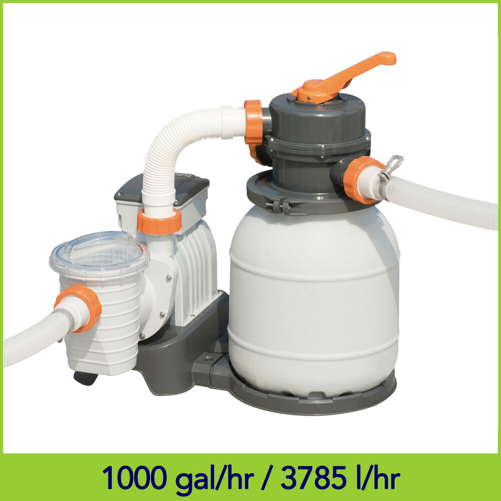 1000 Gal Bestway Flowclear Sand Filter Pump For Above