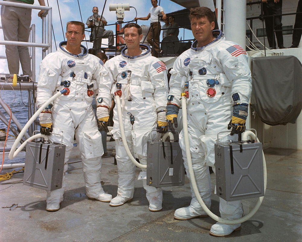 nasa apollo 7 crew - photo #18