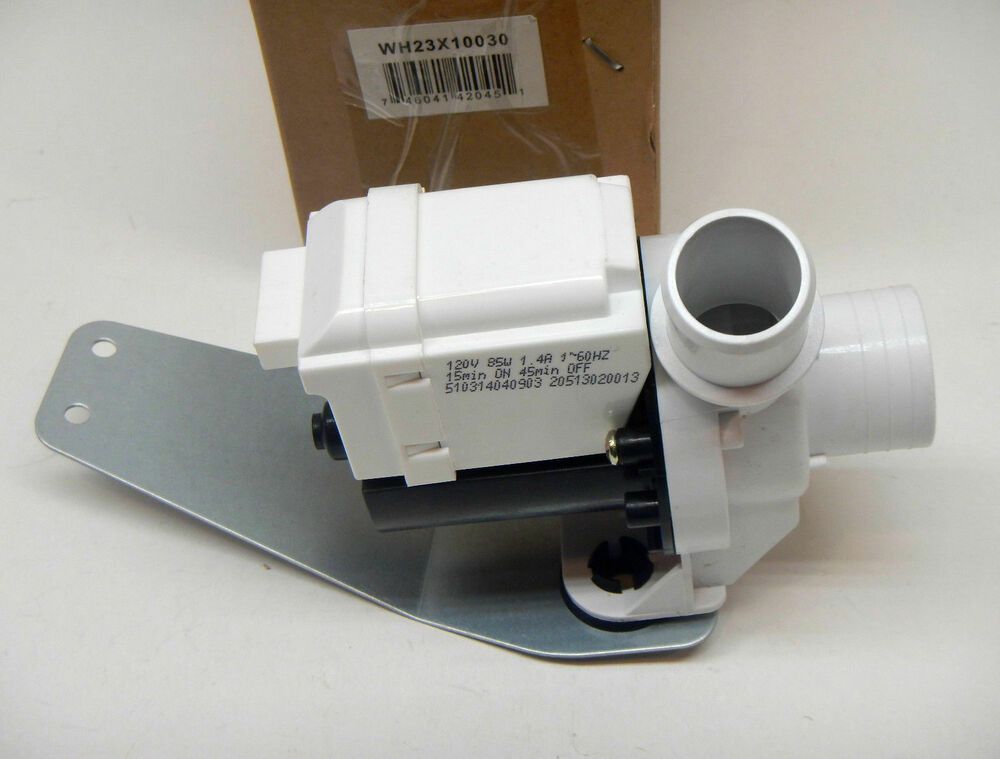 Wh23x10030 For Ge Washing Machine Washer Drain Pump Motor
