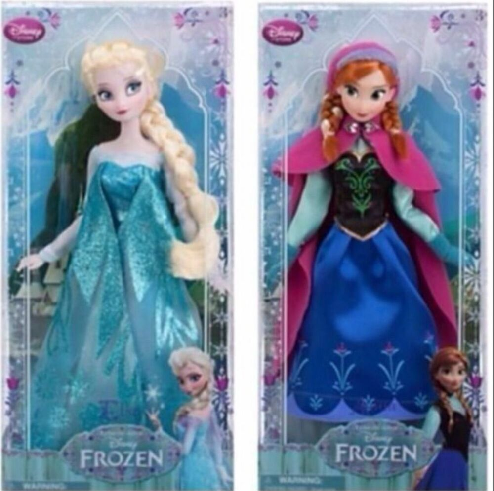 disney frozen anna and elsa doll set car interior design. Black Bedroom Furniture Sets. Home Design Ideas