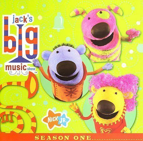 Nick Jr Jack's Big Music Show CD Nickelodeon 2006 Laurie ...