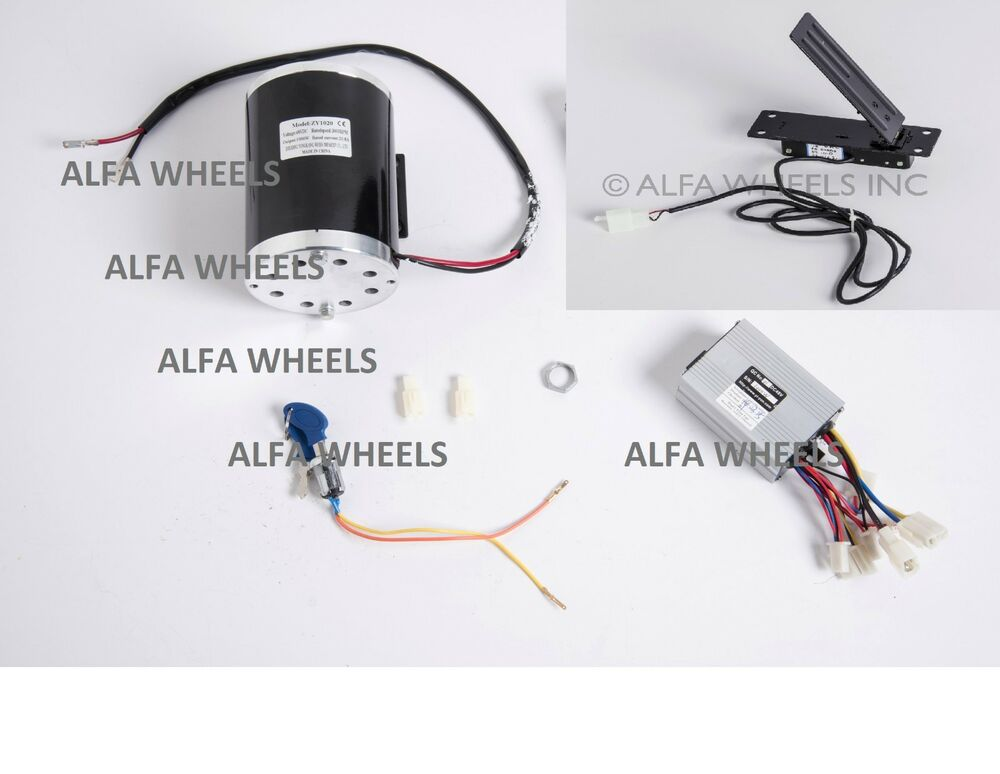 1000w 48v w bracket electric scooter motor kit w control for Electric motor control box
