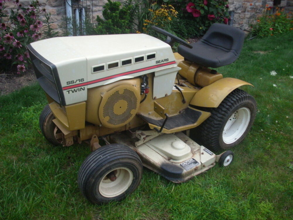 Sears Lawn And Garden Tractors : Sears suburban gt ss tractor