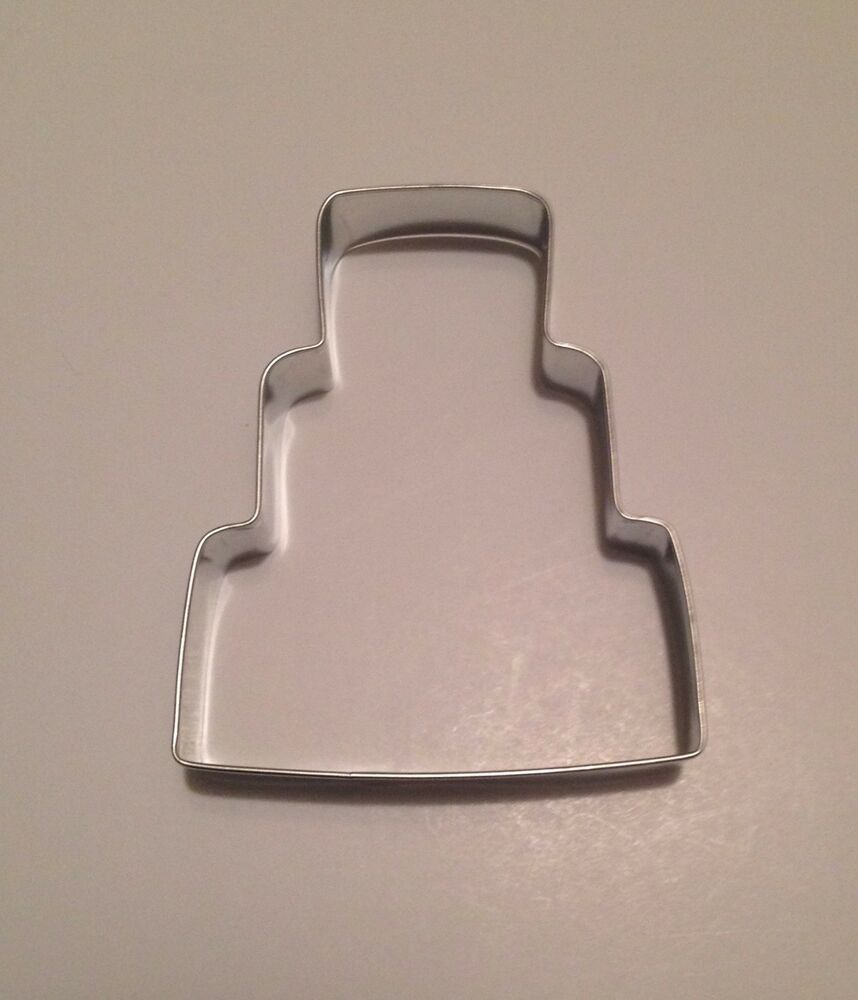 4 Wedding Cake Cookie Cutter Style 2