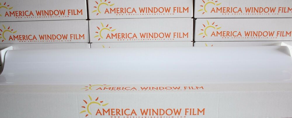 Window film tint white out 2 ply 20 x per foot ebay for 2 ply window tint film