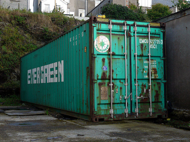 40ft Hc Shipping Container Storage Container Conex Box For