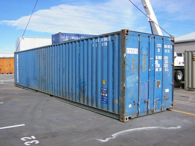 40ft shipping container storage container conex box in salt lake city ut ebay - Shipping container homes utah ...