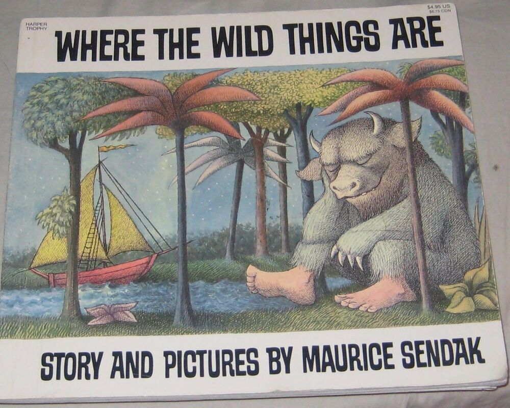 "the warmth of home in where the wild things are by maurice sendak Maurice sendak the night wore his wolf suit and made mischief of one kind and  another his mother called him ""wild thing"" and max said ""i'll eat you up."