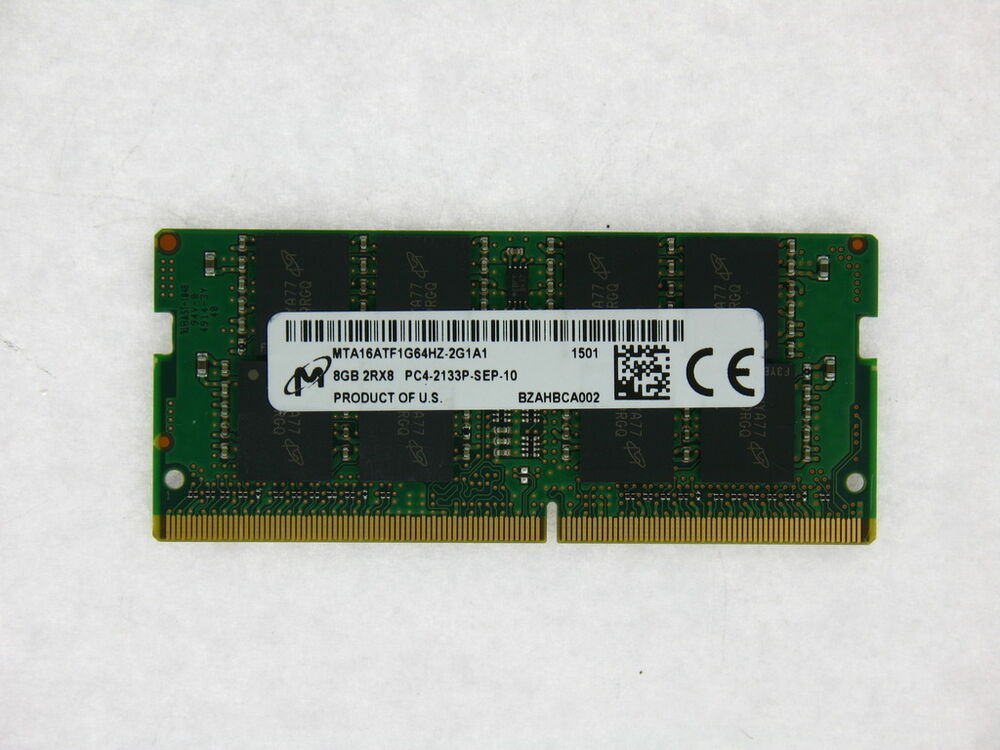 Micron MTA16ATF1G64HZ-2G1A1 8GB PC4-17000 DDR4-2133MHz 260 ...