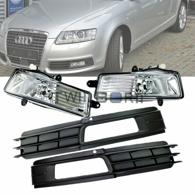 For 2009-2011 Audi A6 C6 H11 55W Fog Light Lamp + Front