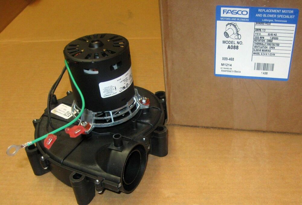 A088 fasco furnace blower motor fits amana coleman 7021 for Variable speed furnace motor