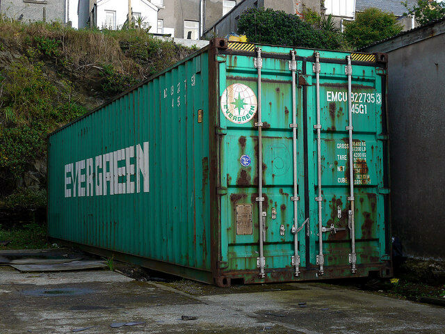 40ft Shipping Container Storage Container Conex Box In Los