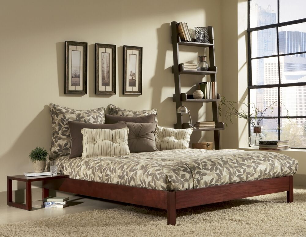 Fashion Bed Group Murray Platform Bed Mahogany Ebay