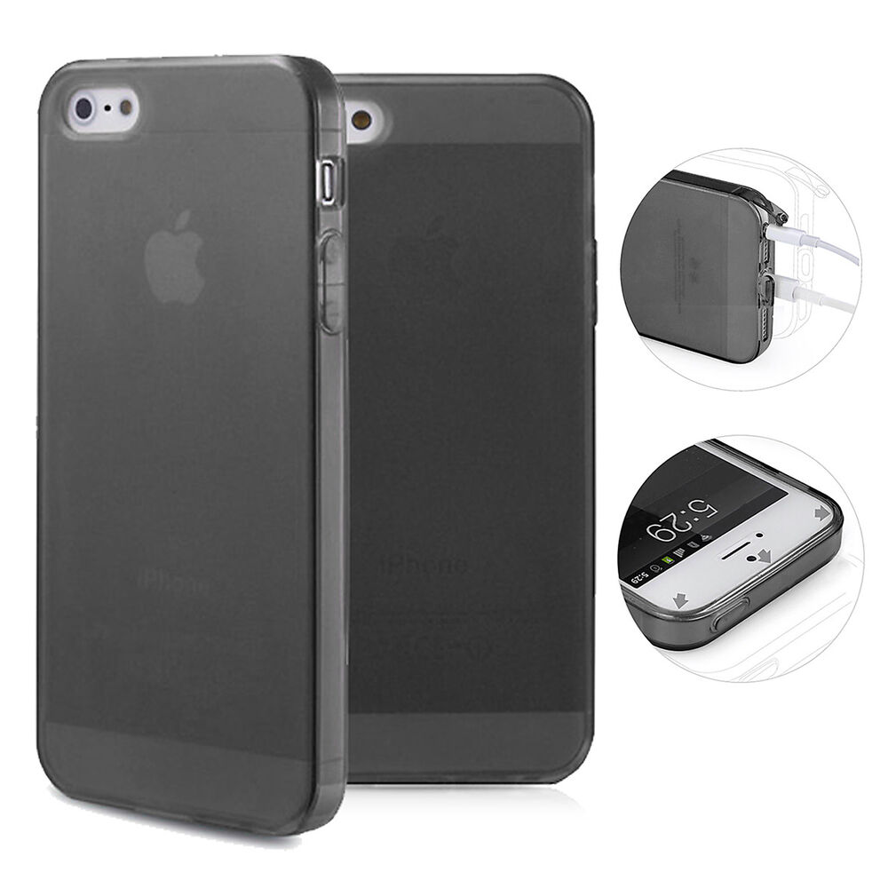 tpu case iphone 5 5s se silikon h lle schale cover. Black Bedroom Furniture Sets. Home Design Ideas