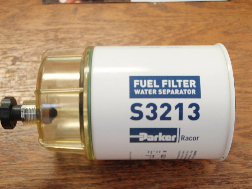 fuel filter w bowl racor gas 62 b32013 s3213 outboard for ... racor fuel water filter parts #14