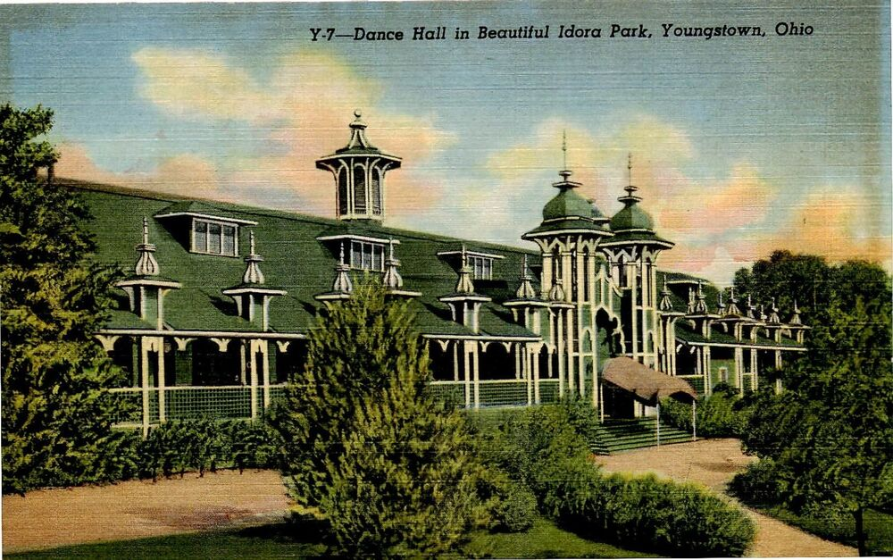 Idora Park Youngstown Ohio View Of Dance Hall Ebay