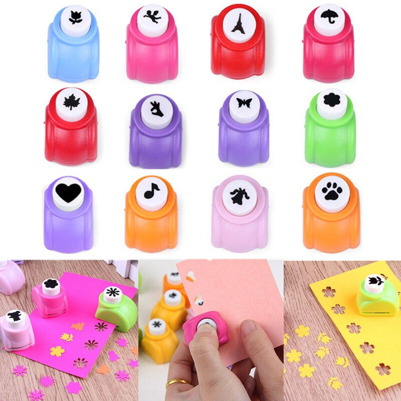 Mini Paper Hole Punch Cutter Printing Paper Hand Shaper Scrapbook Cards Craft  | eBay