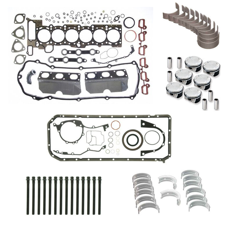 Bmw E39 E46 325i 525i X3 M54 2 5 Engine Rebuild Kit 02