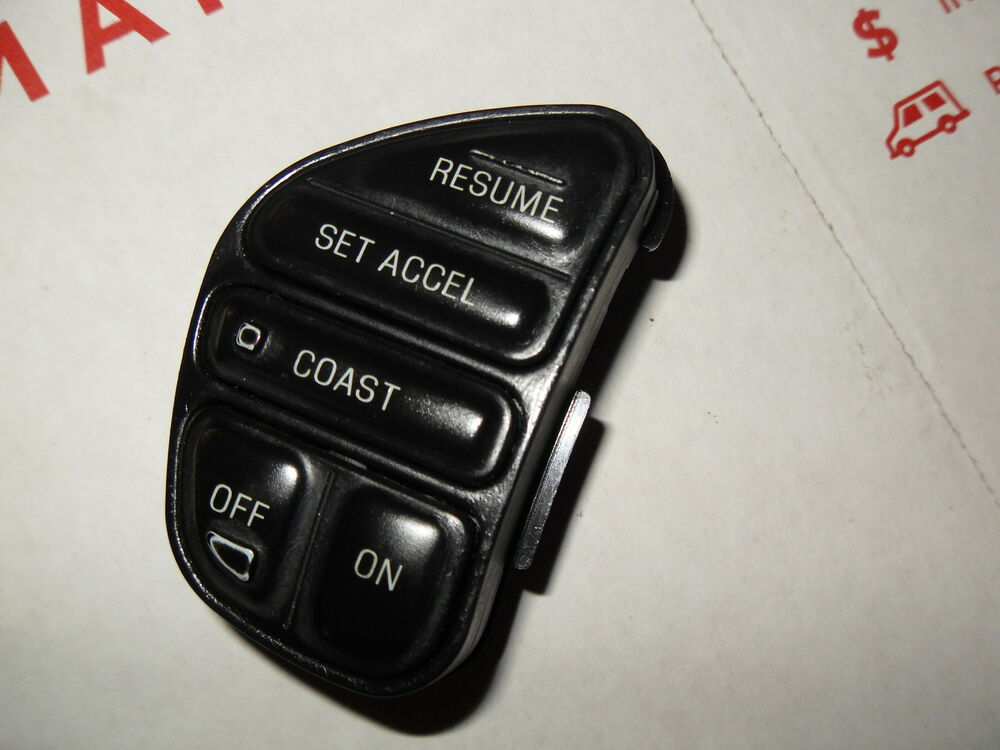 1998 2004 Oem Ford Lincoln Mercury Premium Steering Wheel Cruise Control Switch Ebay