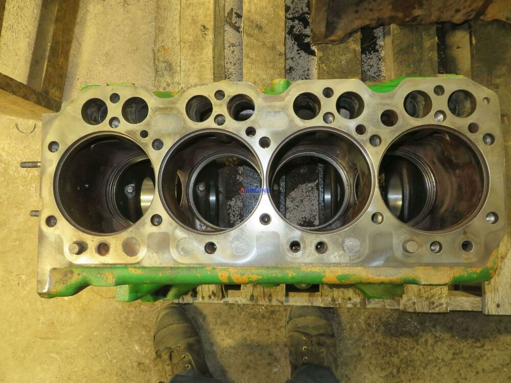 John Deere Block : John deere jd engine block used cyl dsl ebay