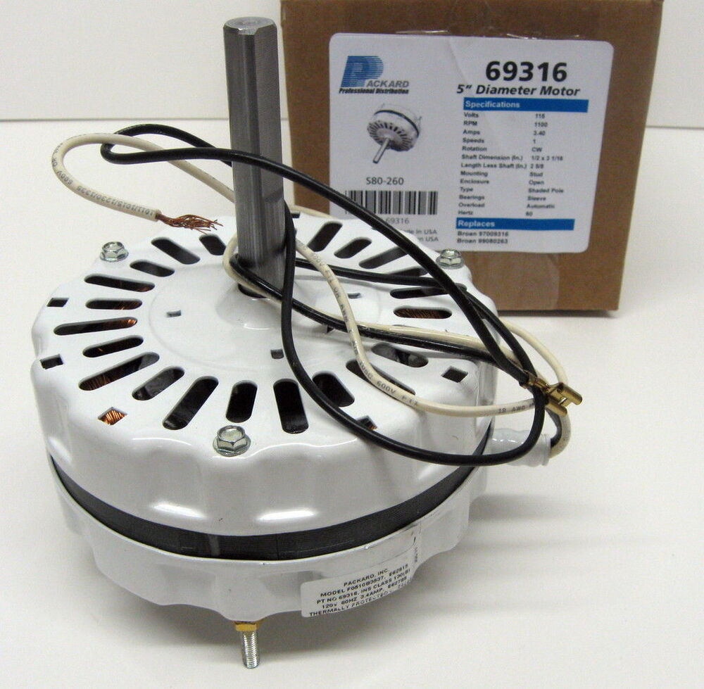 69316 Motor Attic Fan Ventilator White For 97009316 Ebay