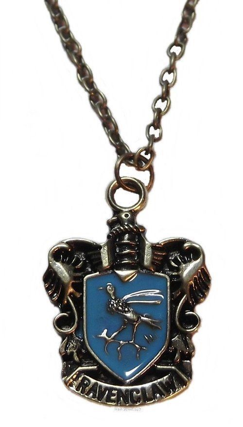 Harry Potter Ravenclaw Crest Pendant Necklace With 20