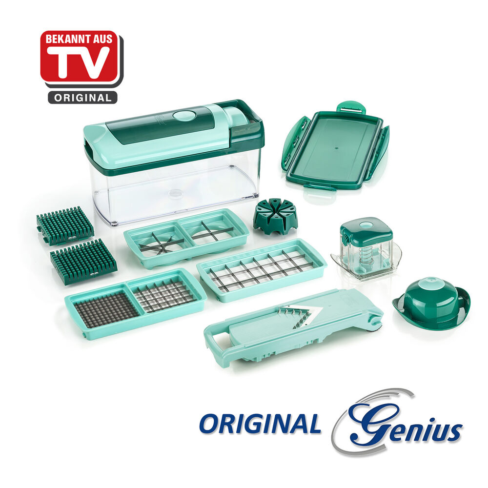 aktionspreis original genius nicer dicer fusion set 13tlg gem seschneider neu ebay. Black Bedroom Furniture Sets. Home Design Ideas