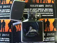 Army Military Regimental Lighter With Lincolnshire Regiment On Front