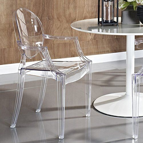 Ghost Armchair Lucite Clear Starck Modern Acrylic Chair