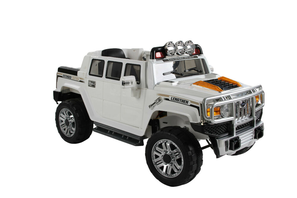 Ford Toys For Boys : Kids v electric hummer style ride on car jeep ebay