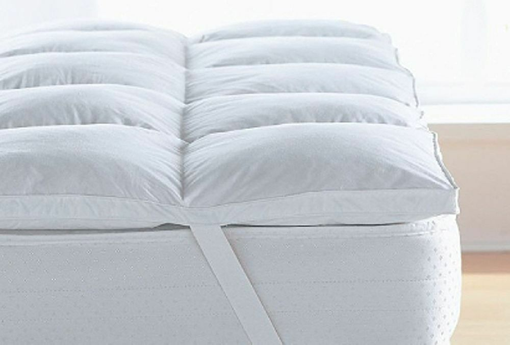 Luxurious White 85% Goose Feather & 15% Down Mattress