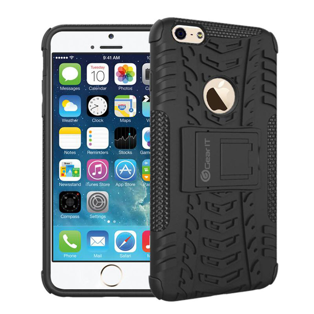 phone cases iphone 6 rugged heavy duty armor tough with kickstand for 2315