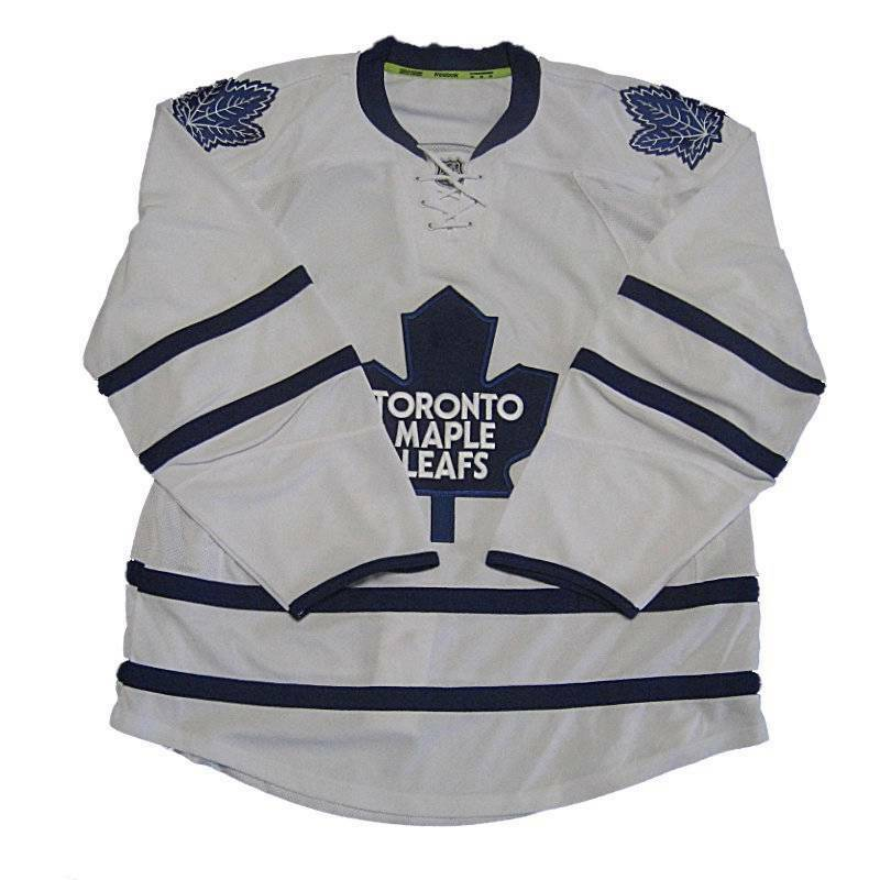32103e77b81 Details about New NHL Reebok Authentic Edge Toronto Maple Leafs Hockey  Jersey Size 54 White