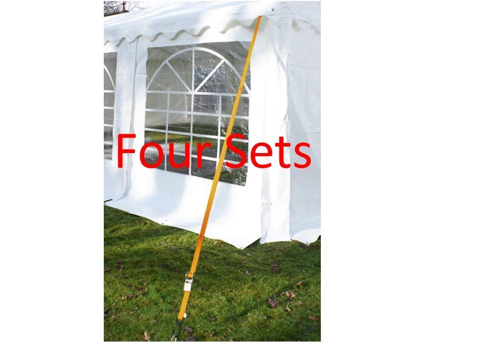 Party Tent Marquee Gazebo 4 Sides Holding Down Anchor Pegs