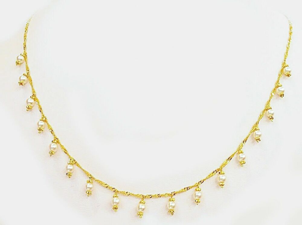 18k Solid Gold Pearl Singapore Twist Necklace  Ebay. Round Engagement Rings. Wedding Band Sets. Bar Chains. Three Band Diamond Ring. Tanzanite Rings. 18ct Diamond Rings. Best Seller Watches. Silver Charm Anklet