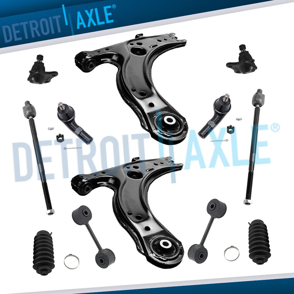 Brand New 12pc Complete Front Suspension Kit For