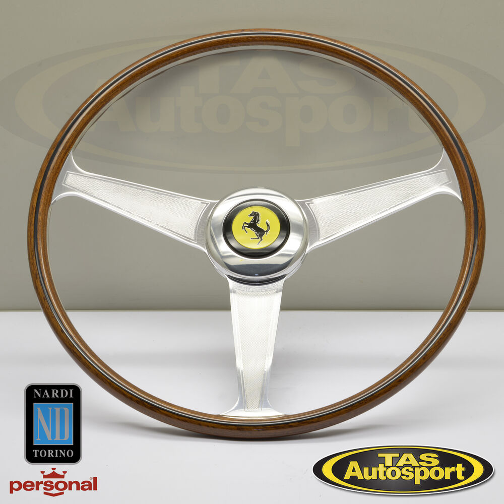 Nardi Steering Wheel Ferrari 1959 1965 All Models Wood