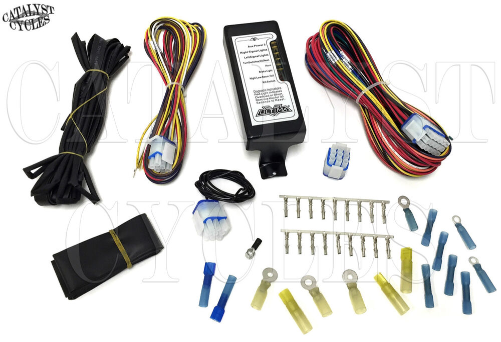 Complete Motorcycle Wiring Harness Ultima Wiring Harness